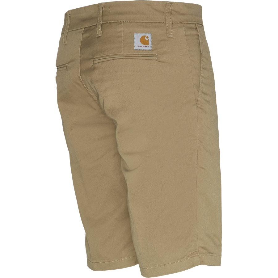 SID SHORT. I010722 - Sid Shorts - Shorts - Slim - LEATHER RINSED - 3